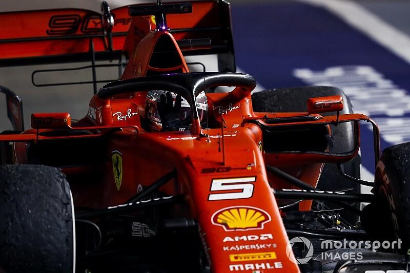 """Beste teamradio GP Singapore: """"Ik doe geen domme dingen"""""""