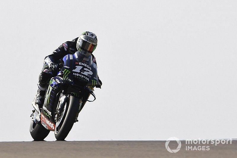 Viñales supera Rossi em trinca da Yamaha no 2º treino da MotoGP em Aragón