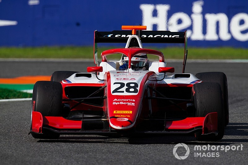 FIA F3ソチ予選:シュバルツマンPP、プレマがトップ3独占。角田17番手、名取19番手