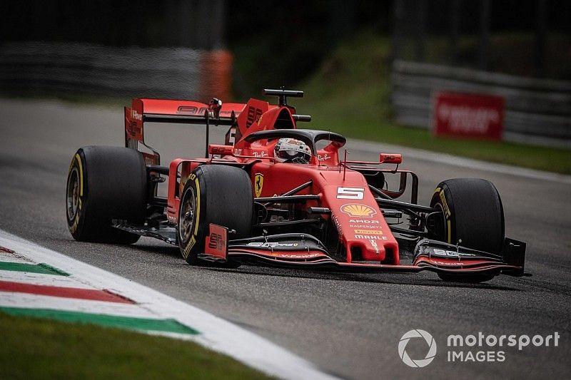 Vettel lidera una apretada 3° práctica en Monza
