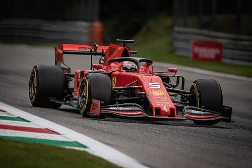 Italian GP: Vettel leads Verstappen in ultra-close FP3
