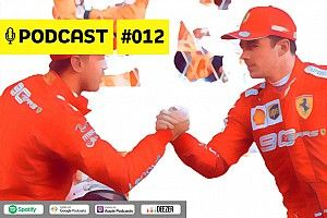 Podcast #012 - A Ferrari tem que escolher entre Vettel e Leclerc?
