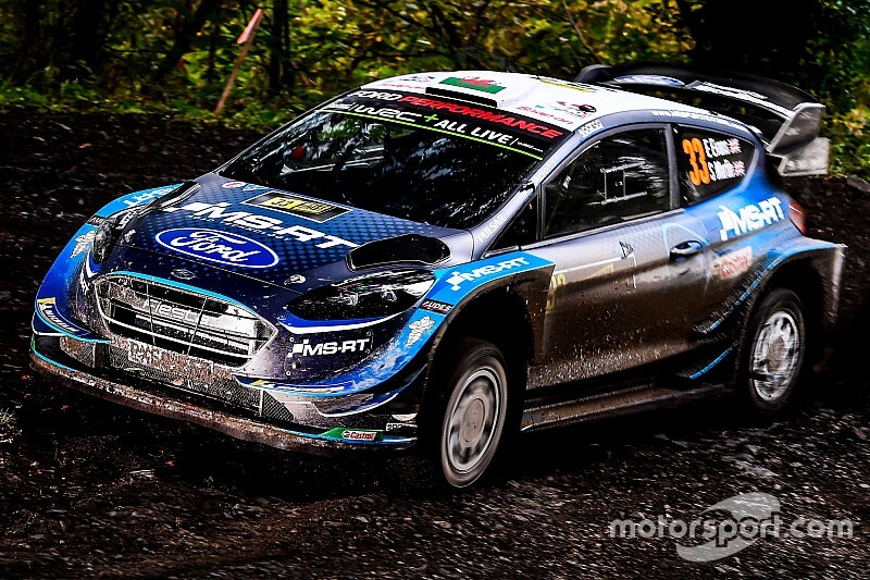 WRC, Rally Galles, PS19: scratch di Evans. Neuville ci prova