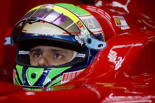 Massa hibája és dühe a Ferrarival: egy dobogó mehetett el ezen (videó)