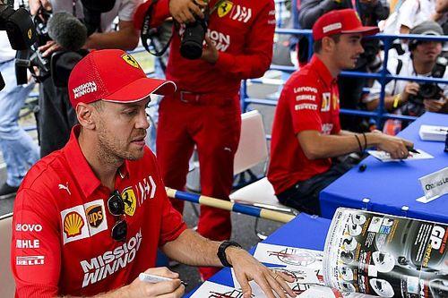 """Vettel admite que """"não foi certo"""" desrespeitar Ferrari na Rússia; Leclerc diz que é preciso """"obedecer às ordens de equipe"""""""