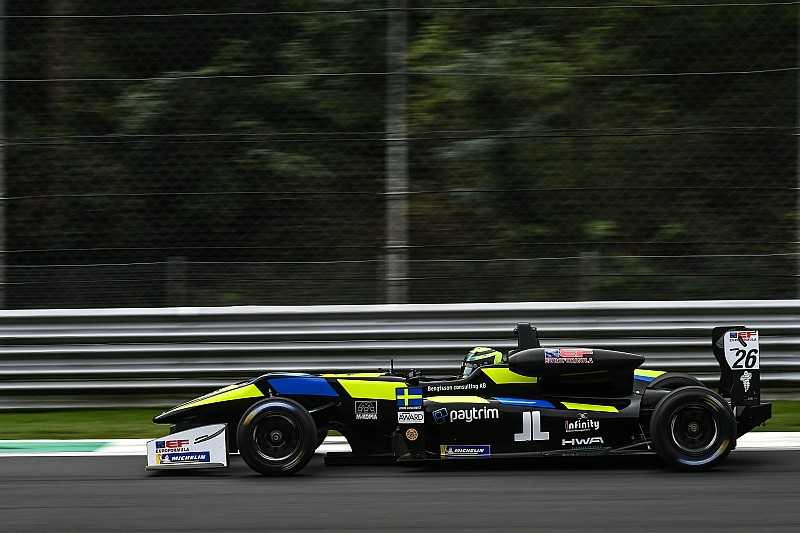Pierwsze pole position Lundqvista