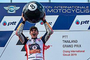 MotoGP Thailand 2019: Marc Marquez siegt knapp und ist Weltmeister!