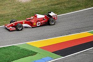 GALERÍA: Mick Schumacher en el Ferrari F2004