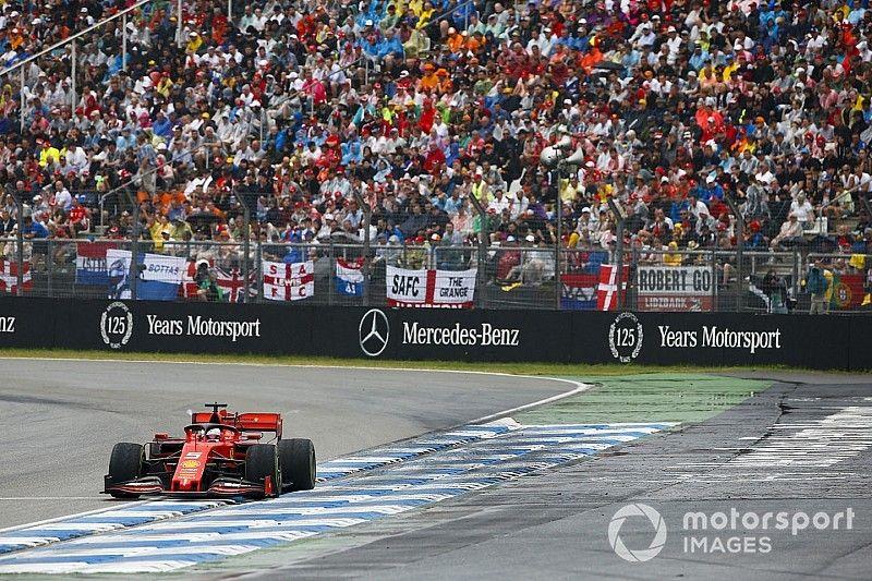 Vettel en hızlı turu atmaya çalıştığı için son turda hata yapmış