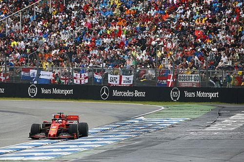 Vettel: Fastest lap chase led to last-lap off in German GP