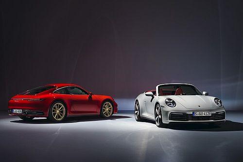 Finalmente debutaron los nuevos Porsche 911 Carrera Cupé y Cabriolet