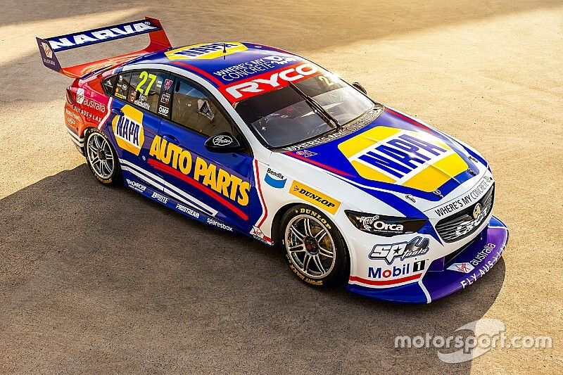 Covers come off Rossi/Hinchcliffe Bathurst 1000 entry