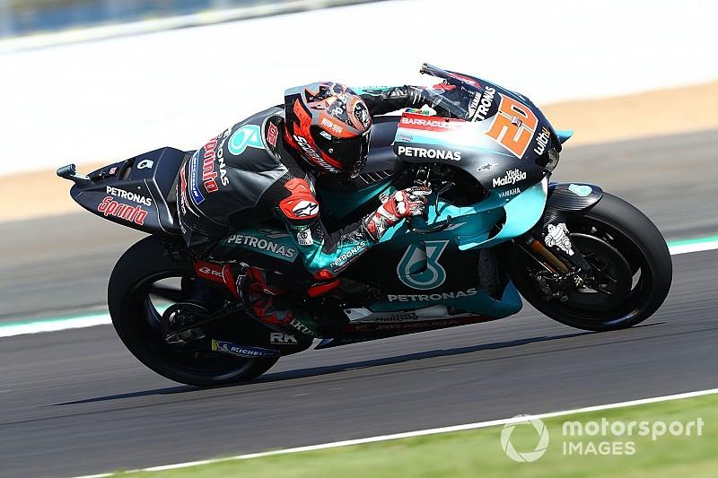 Quartararo termina testes de Misano na frente; Rossi é 4º