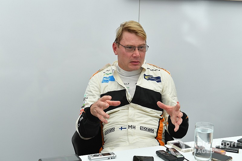 "Hakkinen would only return to racing ""to kick some butt"""