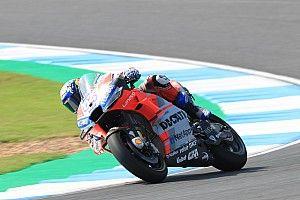 MotoGP, Buriram, Libere 3: Dovizioso al top, Marquez cade e resta fuori dalla Q2