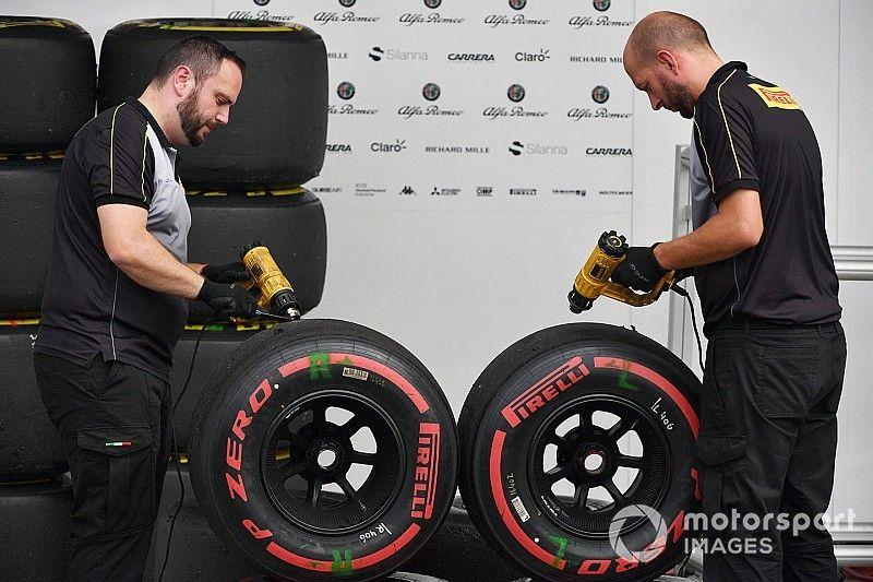 Suzuka tyre wear increased by typhoon impact