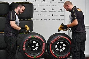 Suzuka tyre wear increased by typhoon impact