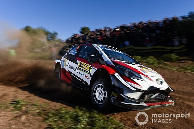 Catalogna, PS9: Toyota riparte forte con Tanak e Latvala. Testacoda per Breen