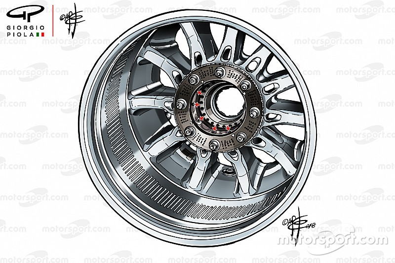 Analysis: How wheel rims became F1's latest controversy
