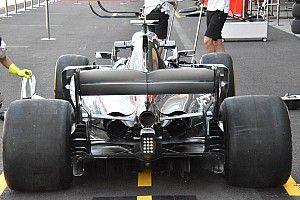 Mercedes: fiancate strette sulla W09, ma ci sono altri sfoghi di aria calda