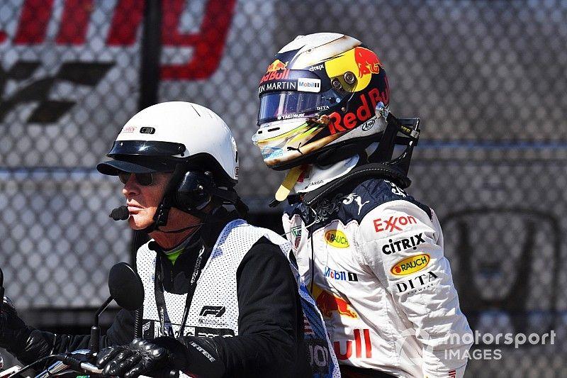 """ريكاردو """"ضرب بيده عرض الحائط"""" بعد انسحابه من سباق أوستن"""