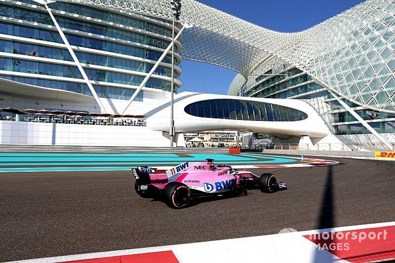 """Perez lamenta problema """"fundamental"""" en su auto este viernes en Abu Dhabi"""