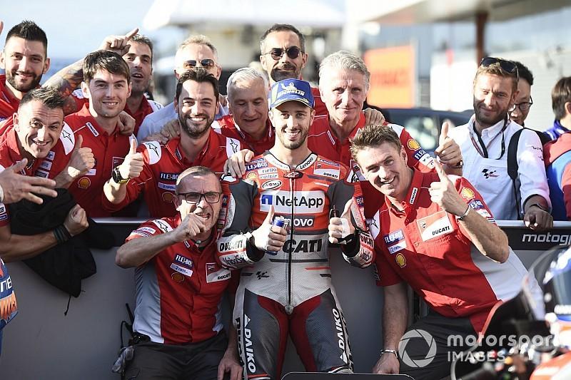 Motegi MotoGP: Dovizioso grabs pole, Marquez sixth