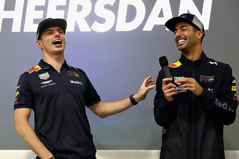 """Verstappen: """"Ricciardo compagno ideale, ti spingeva a migliorare"""""""