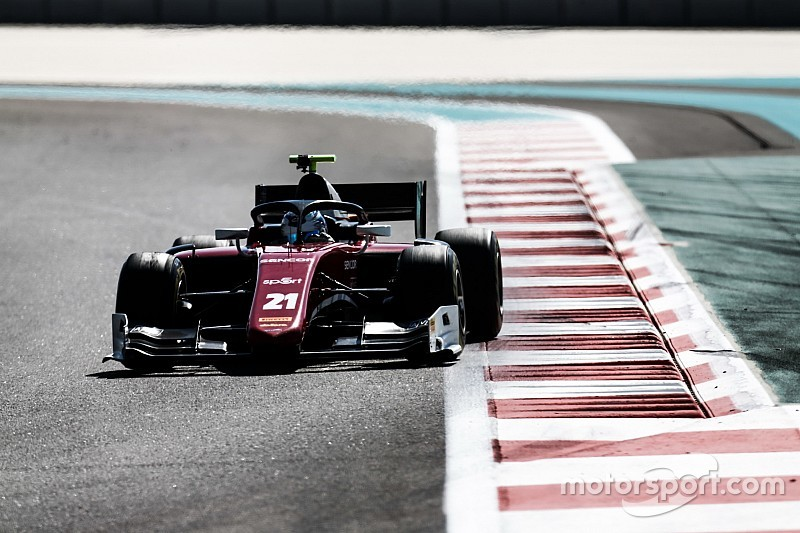 Correa outpaces Schumacher in F2 testing