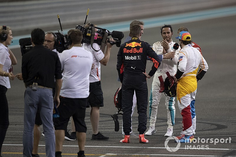 "Verstappen: ""Que vuelva Alonso, pero si es con un auto competitivo"""