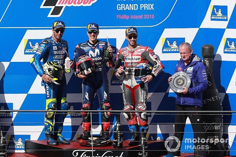 Viñales le devuelve la victoria a Yamaha el día que Zarco vuelve a nacer