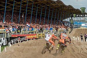 Koning Willem-Alexander te gast bij Motocross of Nations in Assen