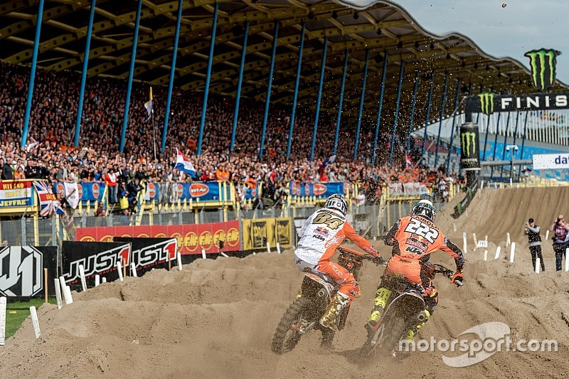 Koning Willem-Alexander te gast bij Motocross of Nations in Assen