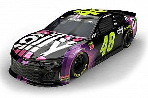 Jimmie Johnson displays new livery for 2019 with Ally