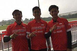 Tiga pembalap Indonesia lolos seleksi ATC 2019