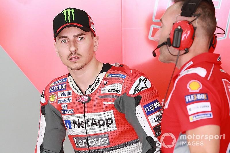 Lorenzo décidera samedi s'il renonce au week-end ou non