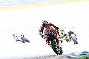 MotoGP, Motegi, Libere 3: Dovizioso ancora al top, Rossi risale quinto