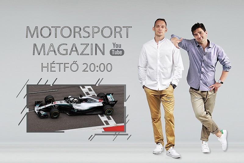 ÉLŐ F1-ES MŰSOR: Lehetetlen helyzetben a Ferrari, Hamilton könnyebben nyer, mint kellene?