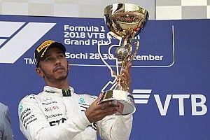 Com 10 vitórias em 2019, Hamilton ainda não ganhou prêmio de Piloto do Dia da F1