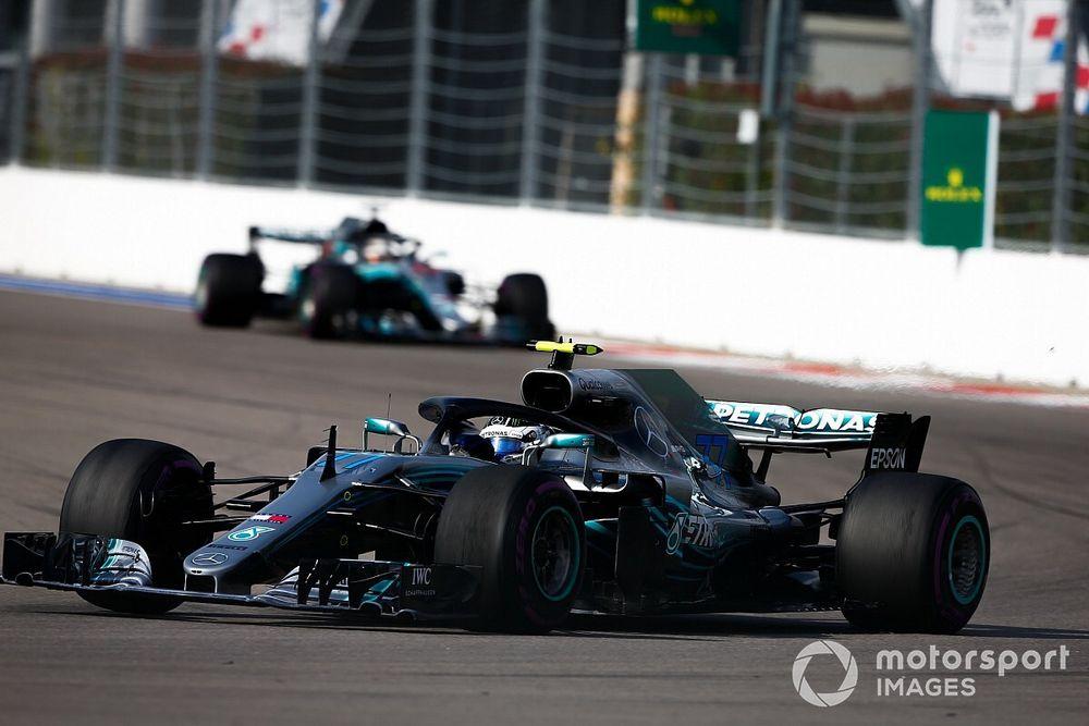 Bottas a été surpris par la consigne soudaine de Mercedes