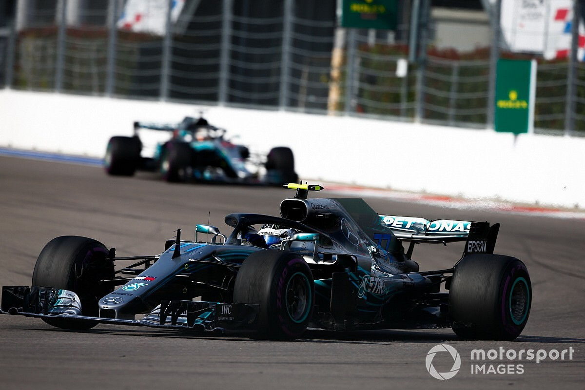 "Bottas didn't expect ""confusing"" team orders call"