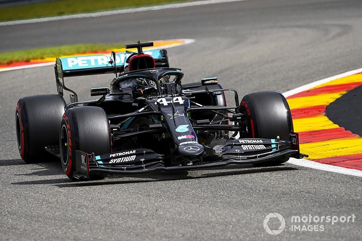 F1: Hamilton a Spa ha fame di record, Ferrari crolla