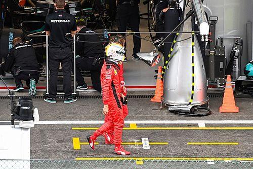 Que Ferrari caiga en Q2 ya no es una sorpresa, dice Vettel