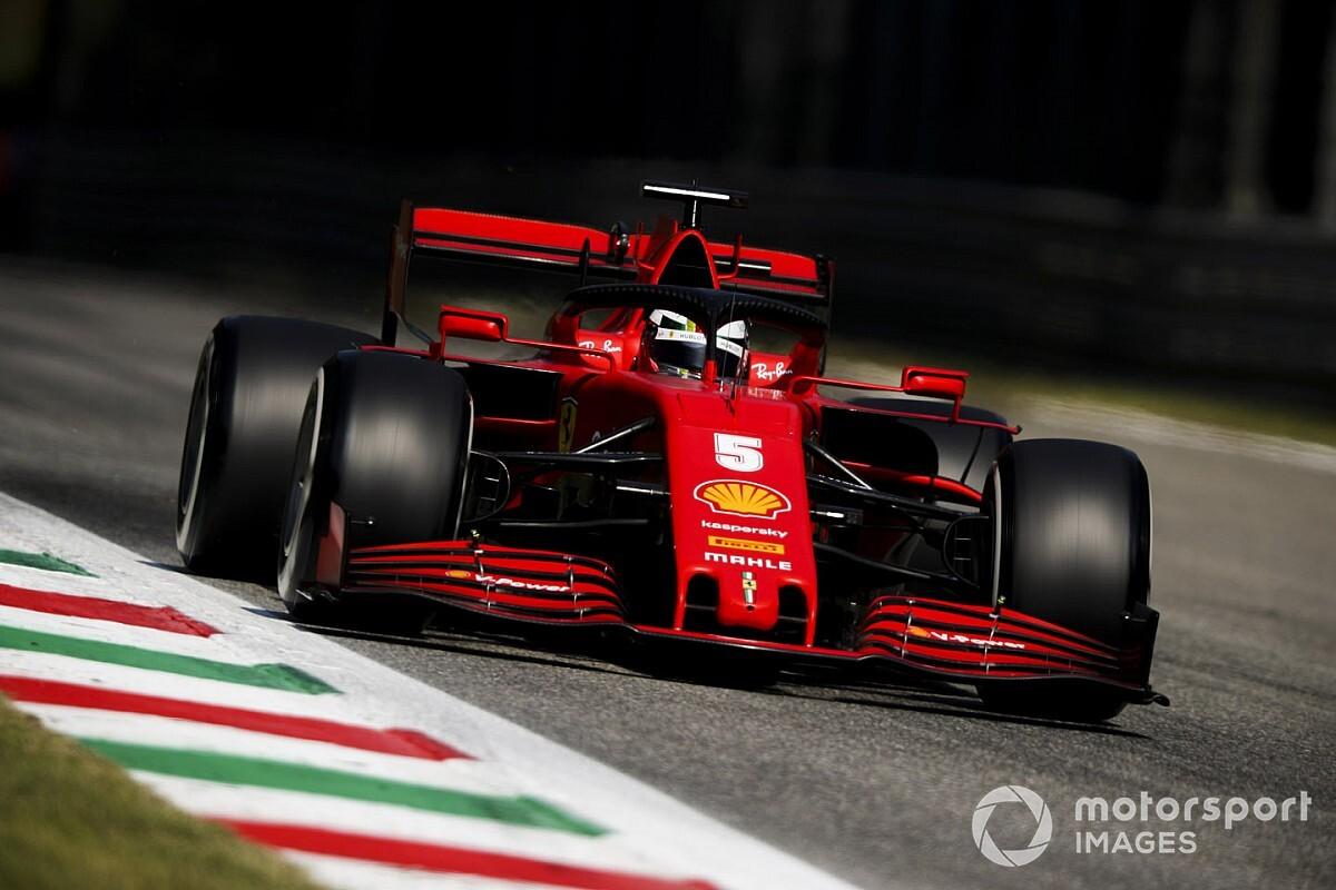 """Vettel: """"Ci manca velocità e aderenza in ingresso curva"""""""