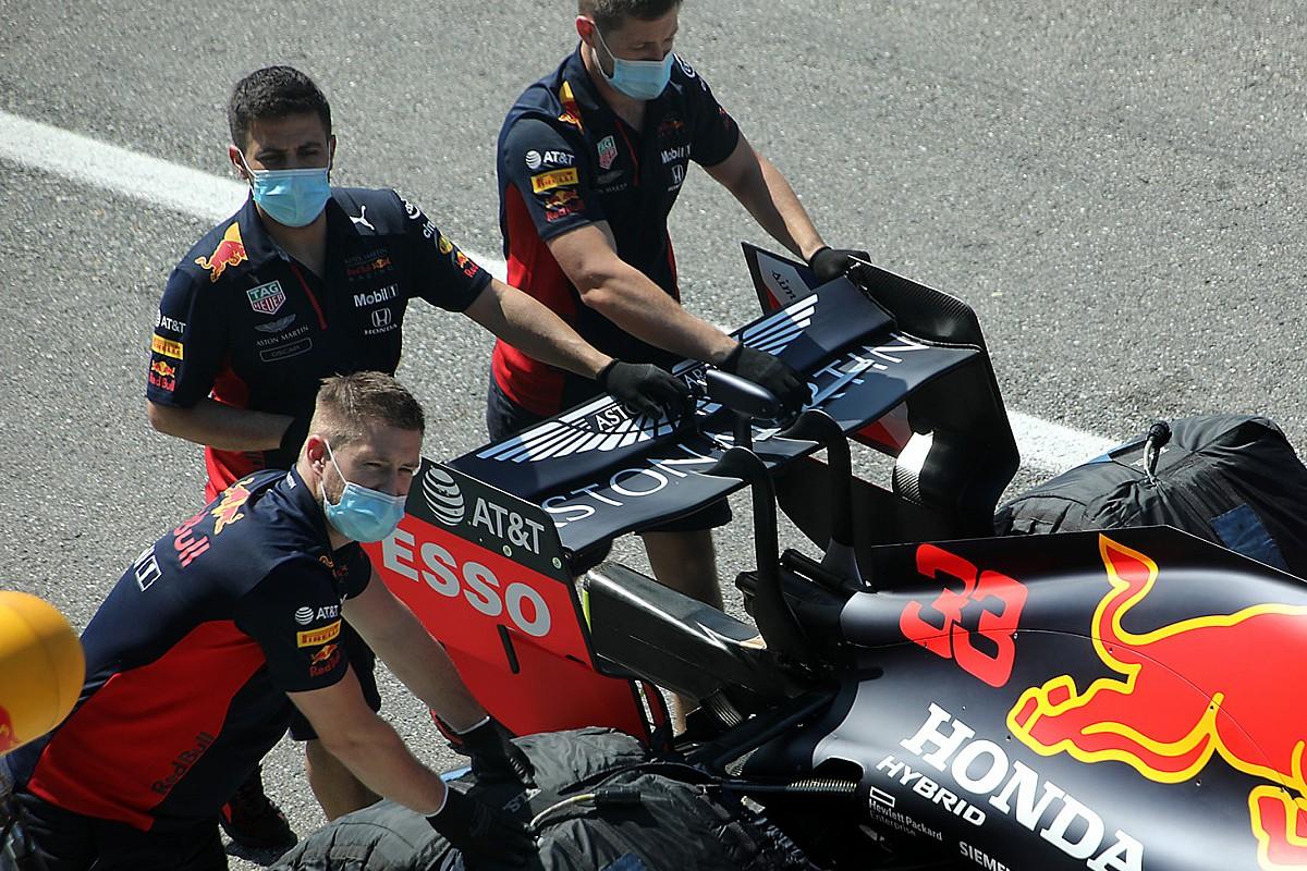 Red Bull: il flap mobile è quasi piatto!