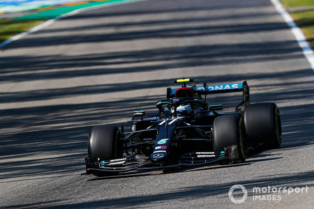 "Bottas: Mercedes' advantage at Monza ""slightly surprising"""