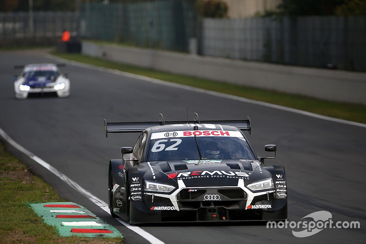 Zolder DTM: Habsburg takes shock pole from Rast