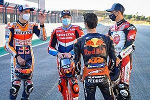 Fotos: las mascarillas de los pilotos de MotoGP