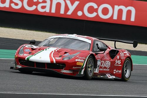 Rovera all'esordio ELMS sulla Ferrari a Portimao