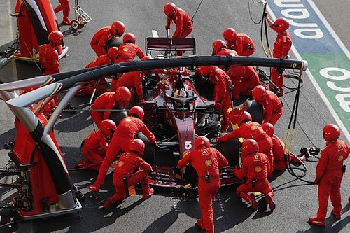 Las novedades de Ferrari para el GP de Eifel de F1